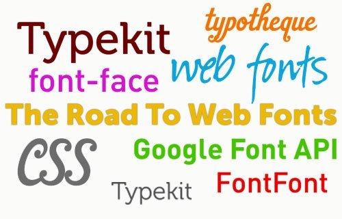 Chọn Font chữ phù hợp