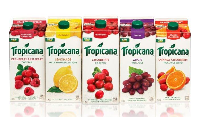 Tropicana sau khi thay đổi bao bì bên ngoài được khách hàng dần chấp nhận lại