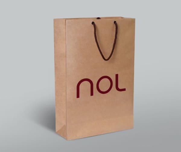 túi giấy môi trường đơn giản