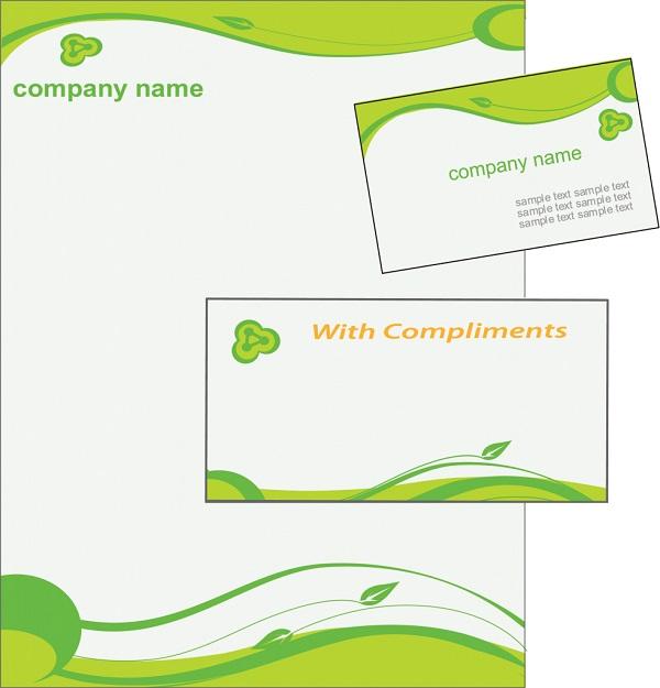 giấy tiêu đề thiết kế đơn giản