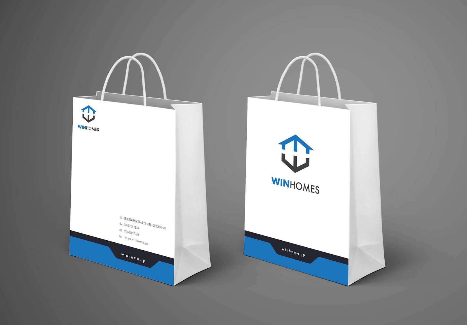 mẫu thiết kế túi giấy
