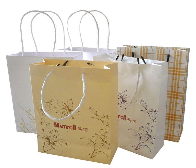thiết kế mẫu túi giấy