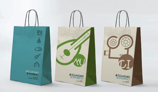 thiết kế mẫu túi xách giấy