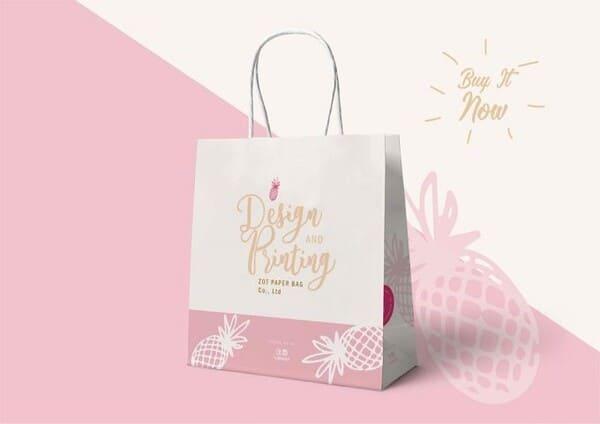 thiết kế túi đựng mỹ phẩm