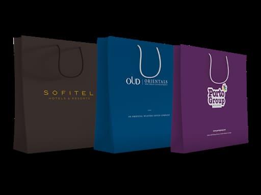 thiết kế túi giấy đẹp màu sắc