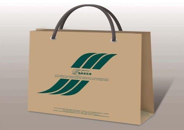 thiết kế túi giấy kraft
