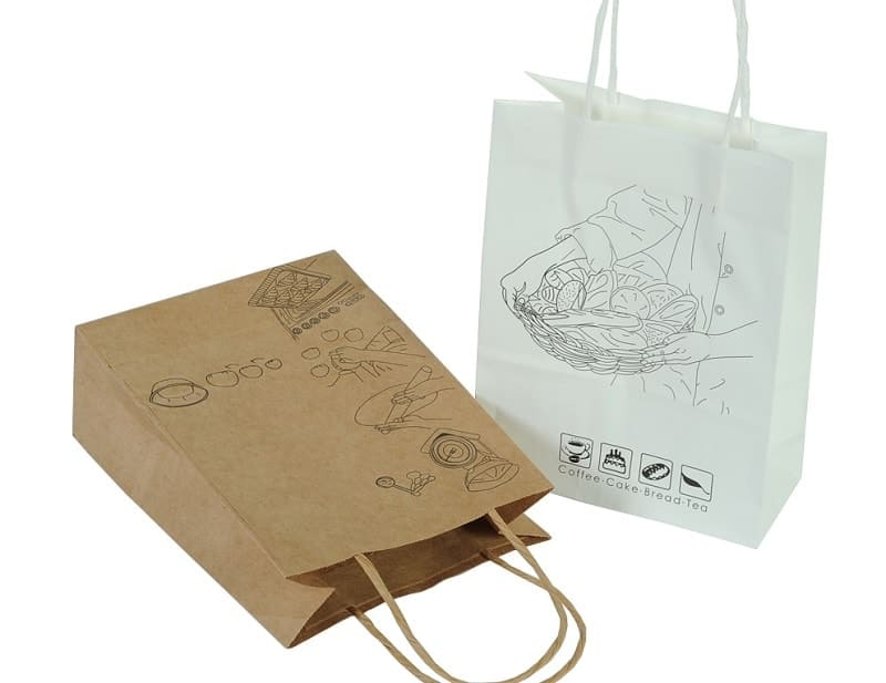 thiết kế túi giấy rẻ