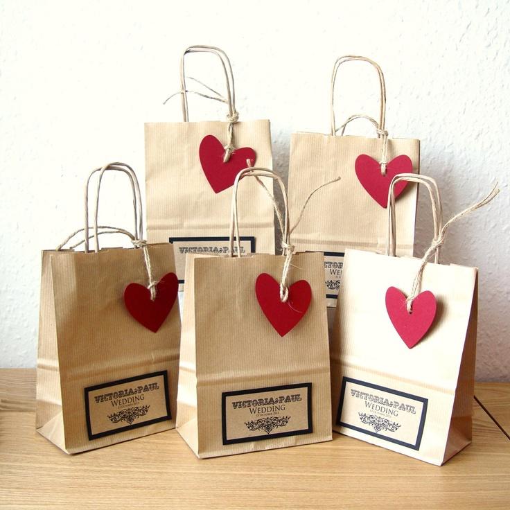 Các nàng sẽ thích túi giấy kraft có trái tim này đấy