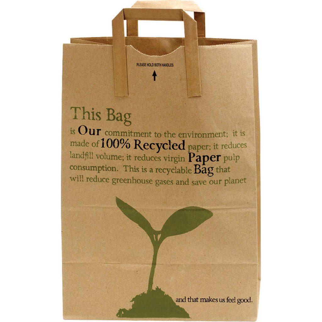 Túi giấy kraft có chất liệu thân thiện với môi trường