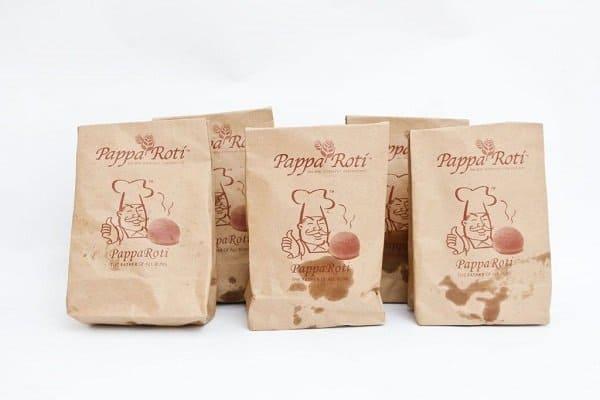 Túi giấy đựng thực phẩm pappa roti