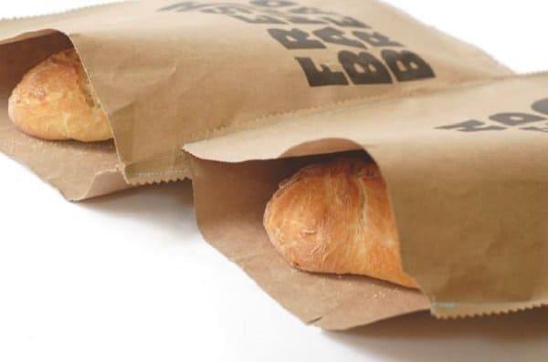 Túi giấy đựng thực phẩm bánh mì