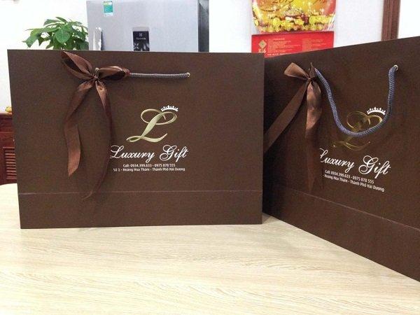 Túi giấy cao cấp luxury gift