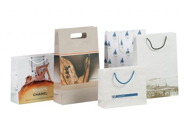 Túi giấy cao cấp mẫu thời trang