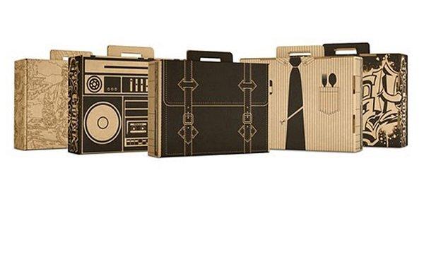 Túi giấy cao cấp mẫu vali đồ vật