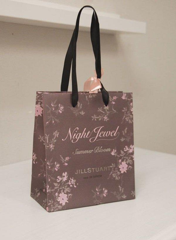Túi giấy cao cấp thời trang Jillstuart