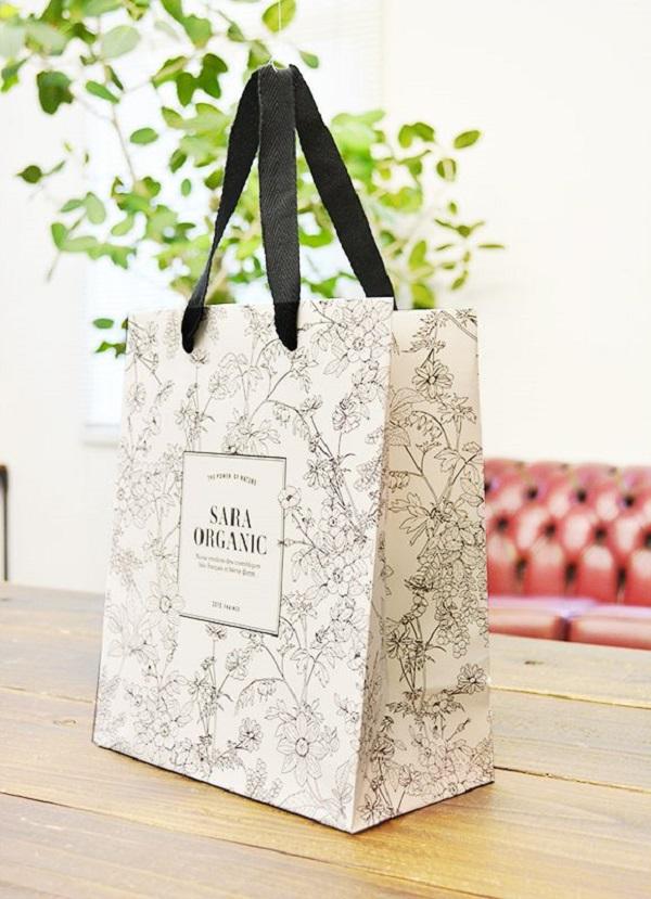 Túi giấy cao cấp thời trang sara organic