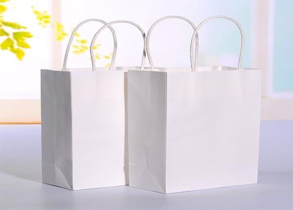 giấy kraft trắng đơn giản