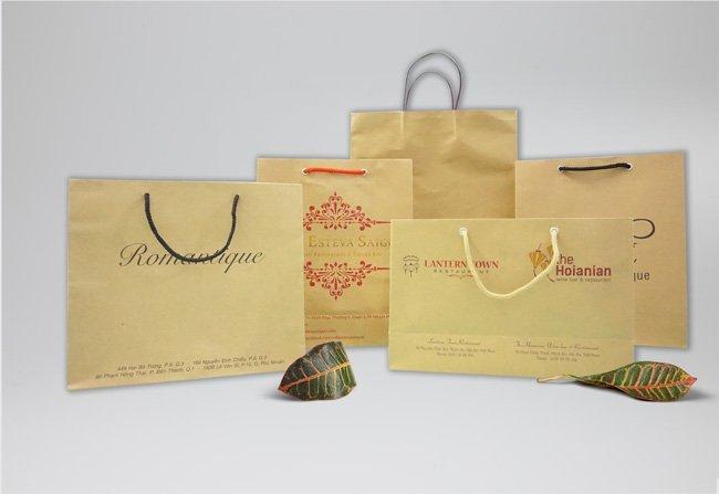 Túi giấy kraft giá rẻ chất lượng