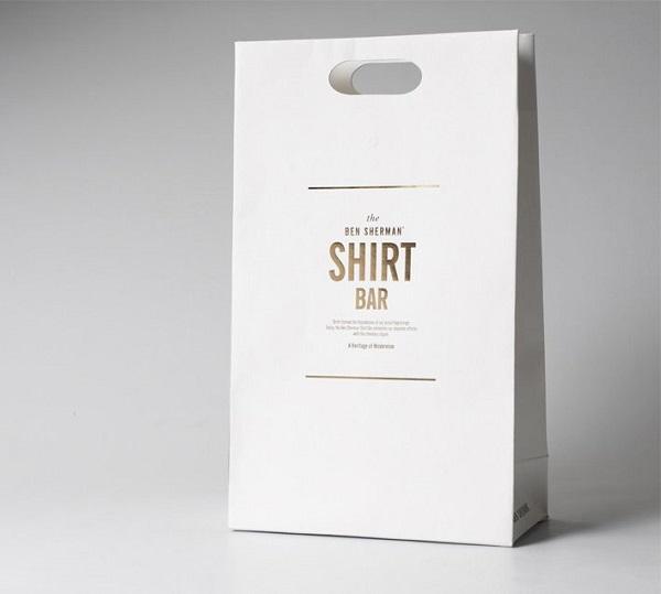 túi giấy kraft trắng