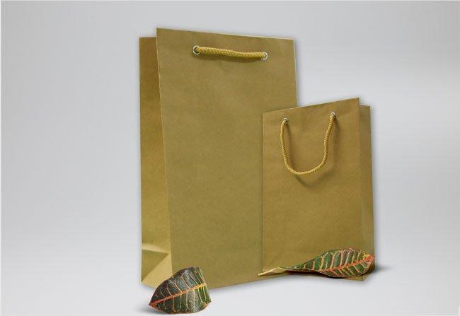 Túi giấy Kraft mini được nhiều nhãn hàng thực phẩm danh tiếng sử dụng
