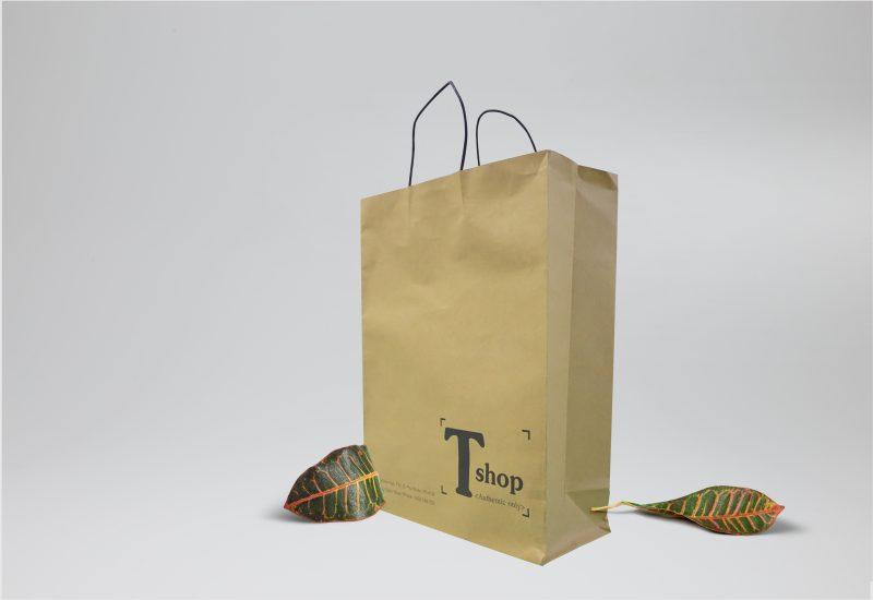 Túi giấy kraft có độ bền dẻo và khó bị xé rách