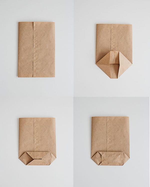 cách làm túi giấy handmade