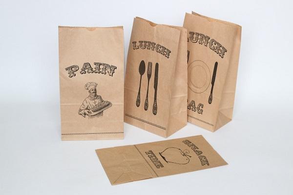 oại túi giấy đựng bánh mì