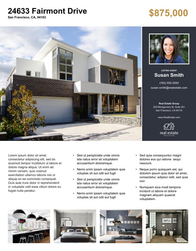 thiết kế mẫu tờ rơi bất động sản