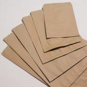 Túi giấy kraft có sẵn không quai