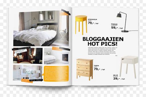 các mẫu thiết kế catalogue đẹp