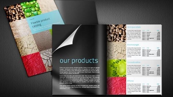 giá thiết kế catalogue