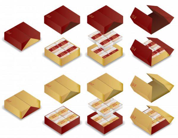 hộp giấy đựng bánh trung thu