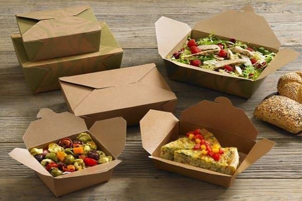 hộp giấy đựng thức ăn ấn tượng