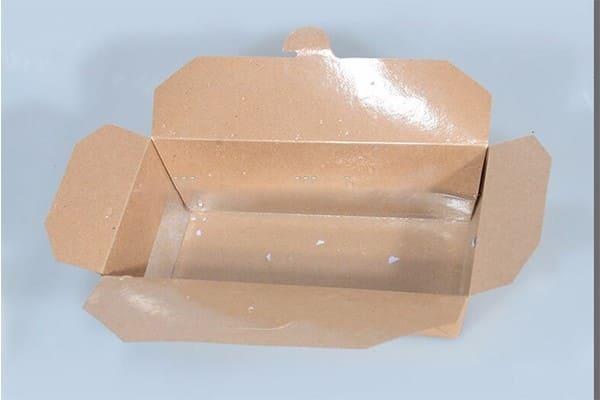 hộp giấy có nilon