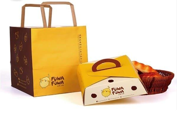 hộp giấy đựng thức ăn bắt mắt
