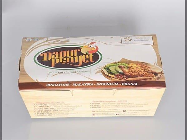 hộp giấy đựng thức ăn cao cấp