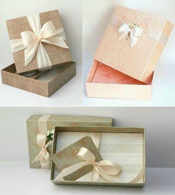 hộp giấy gói quà