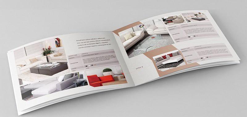 kích thước chuẩn của catalogue