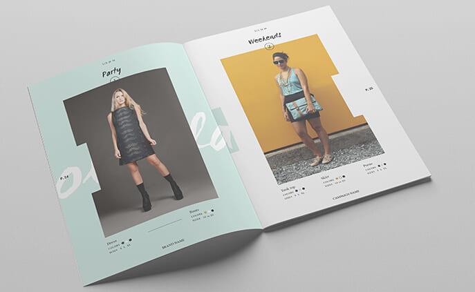 mẫu catalogue đơn giản