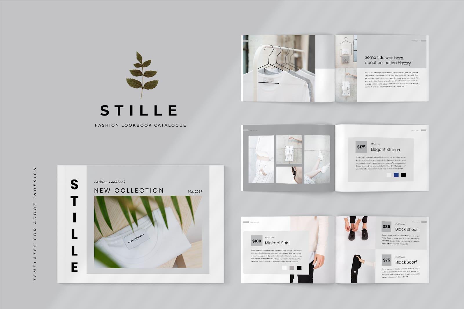 mẫu catalogue thời trang