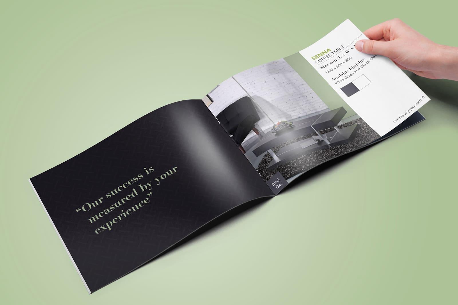 mẫu thiết kế catalogue đẹp