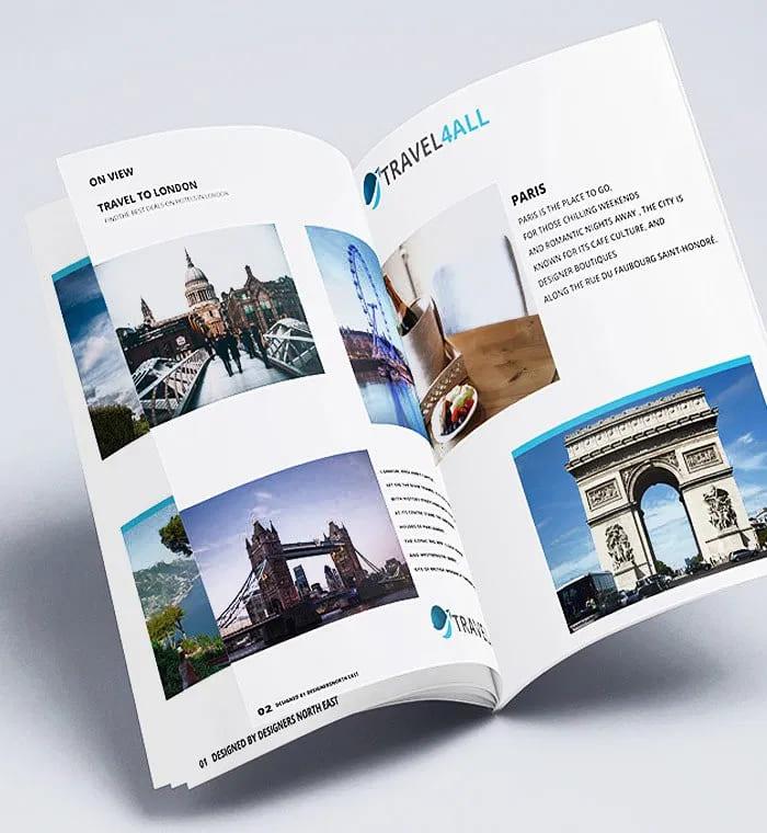 thiết kế catalogue thu hút