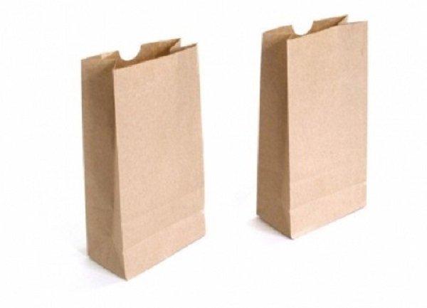 túi giấy kraft trơn không quai
