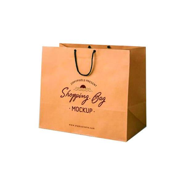 bán túi giấy kraft trơn có sẵn