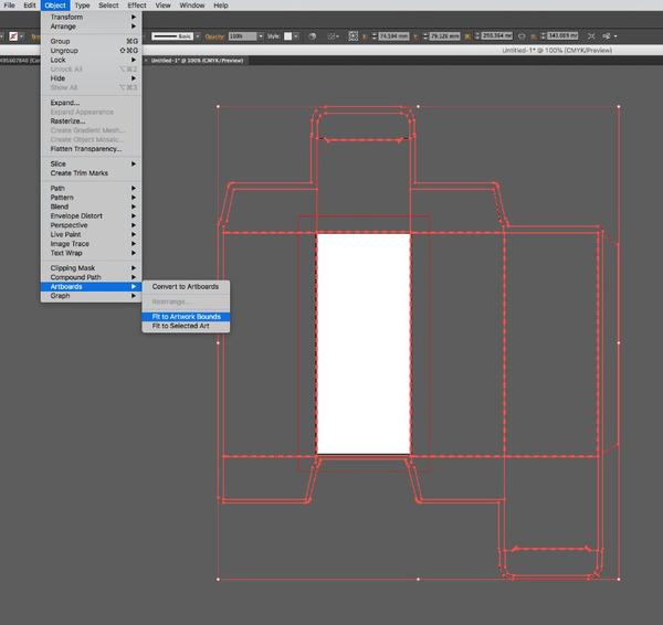 cách thiết kế hộp giấy