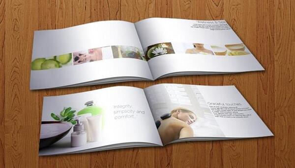 Các mẫu Catalogue Spa tuyệt đẹp, thu hút người dùng