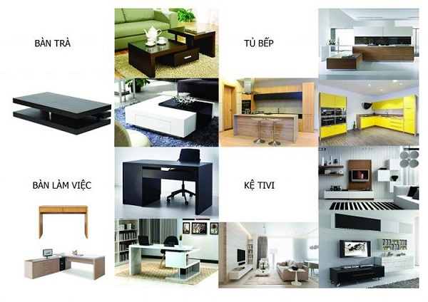 nội thất không gian nhà ở