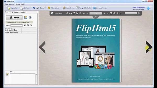 phần mềm FlipHTML5
