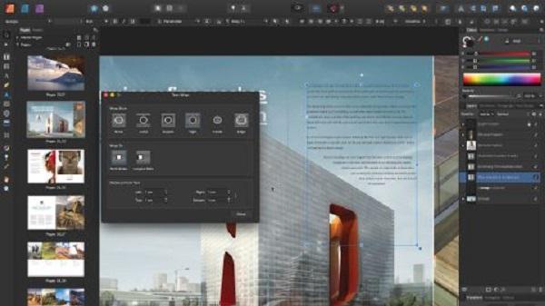 phần mềm Affinity Publisher