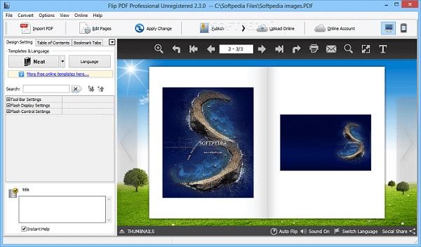 phần mềm Flip PDF